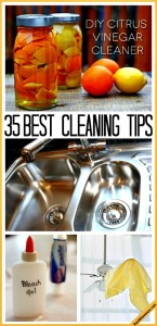 35 Best Cleaning Tips