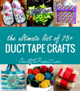 The Ultimate List of Duct Tape Crafts, 75+ Amazing Ideas!
