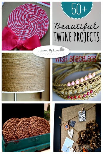 Over 50 Projects to Make Using Twine