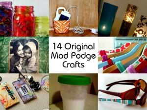 14 Original Mod Podge Crafts