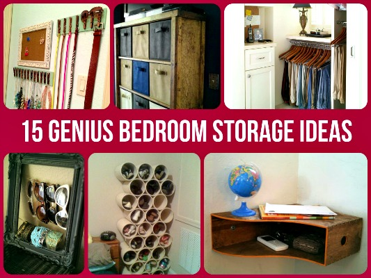 15 genius bedroom storage ideas diy home sweet home