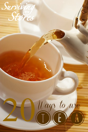 20 Unique Ways to Use Tea
