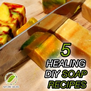 5 Healing Homemade Soap Recipes