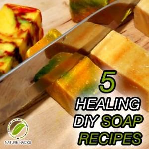 5 Healing Homemade Soap Recipes
