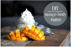 Homemade Mango Body Butter
