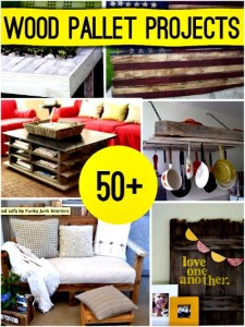 50+ Amazing Wood Pallet Projects