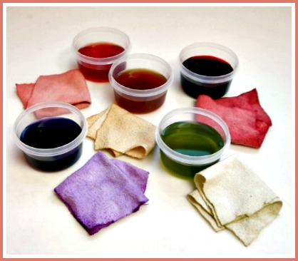 natrual fruit dyes, natural vegetable dyes