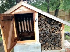 How to Make a DIY Cedar Smokehouse
