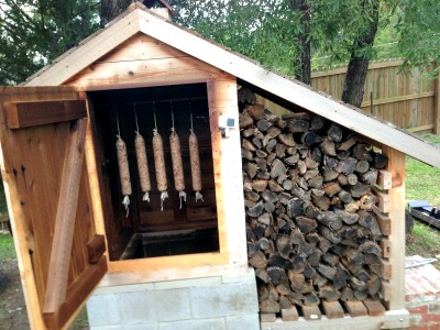 How to Make a DIY Cedar Smokehouse