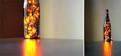 DIY Wine Bottle Light Tutorial