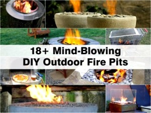 Mind-Blowing DIY Outdoor Fire Pits