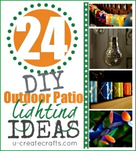 24 DIY Patio Lighting Ideas and Tutorials