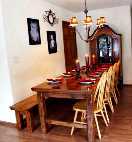 Homemade Farmhouse Table Tutorial