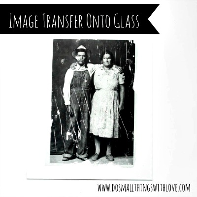 How to Transfer an Image Onto Glass