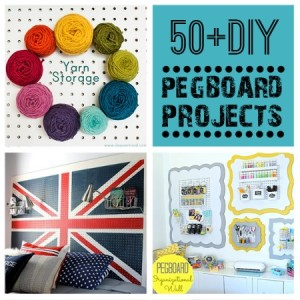 50+ Creative Pegboard DIY Ideas