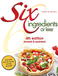 Six Ingredients Or Less Cookbooks – 50% Off