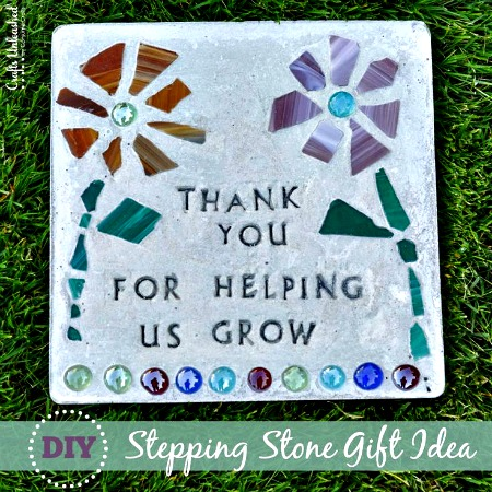 How to Make a A Stepping Stone for Grandpa's Garden (Father's Day Gift)