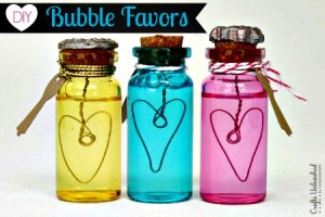 DIY Bubbles – Make Your Own Bubble Party Favors