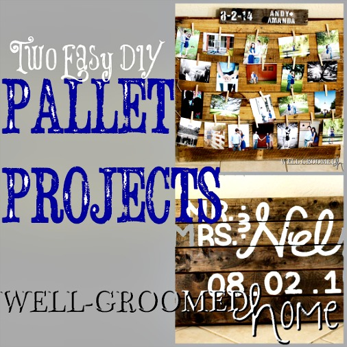 Two Easy DIY Wooden Pallet Projects