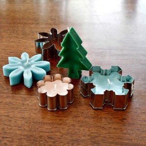 How to Make Cookie Cutter Candles