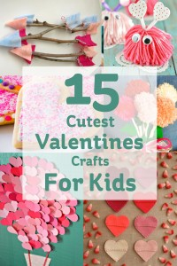 15 Cute Valentines Crafts for Kids