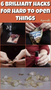 6 Hacks for Hard to Open Things