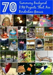 70 Genius Summery Backyard DIY Projects